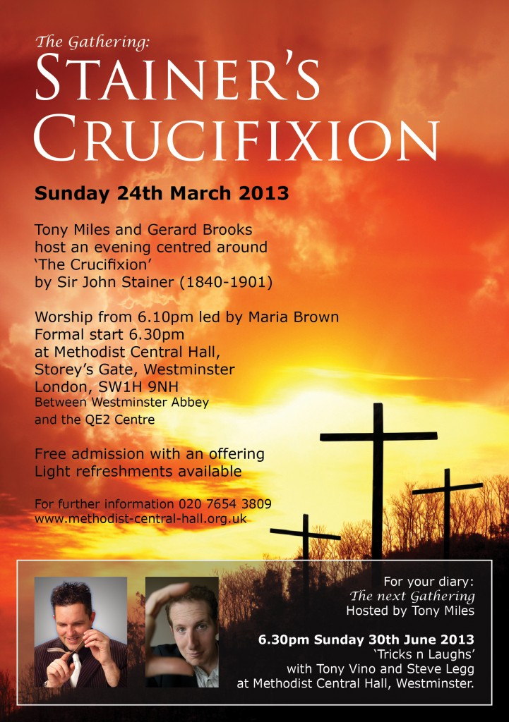 A5 Flyer The Crucifixion Front