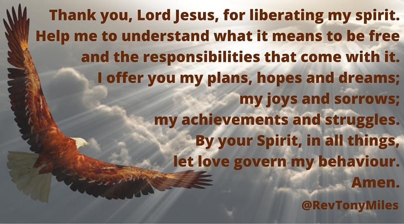 Freedom with responsibility prayer 2