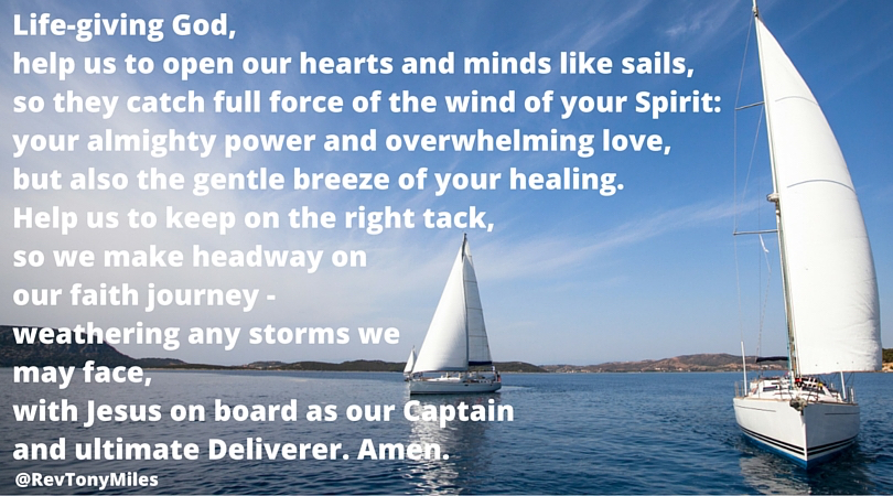 Life-giving God prayer