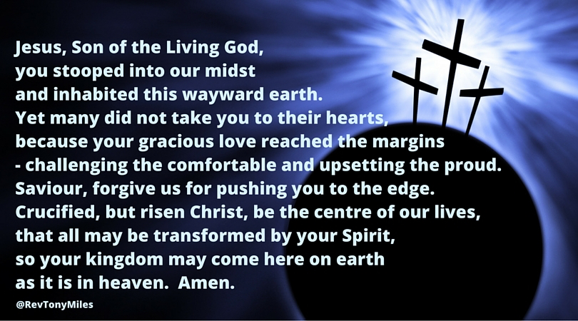 Pushed to the edge prayer